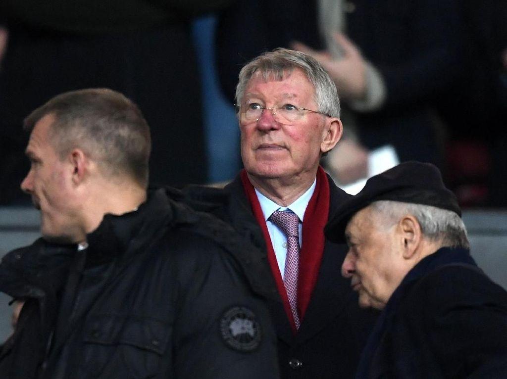 Sir Alex Frustrasi Lihat MU Dipermalukan Man City