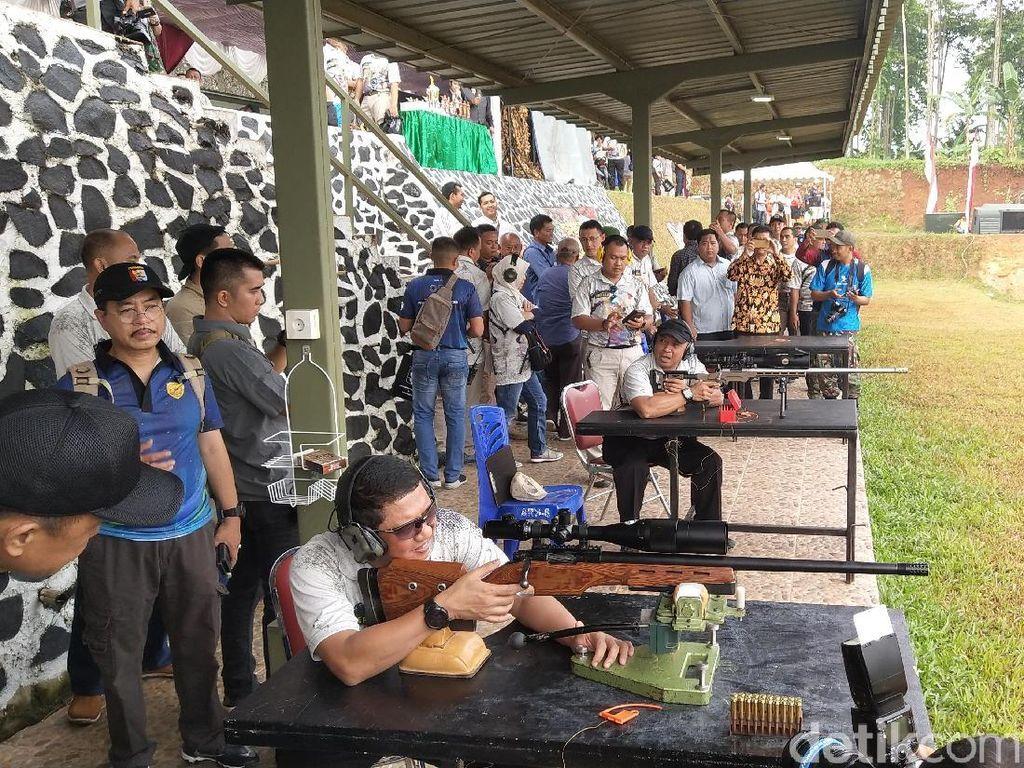 Kasdam Buka Kejurnas Menembak Pangdam Jaya