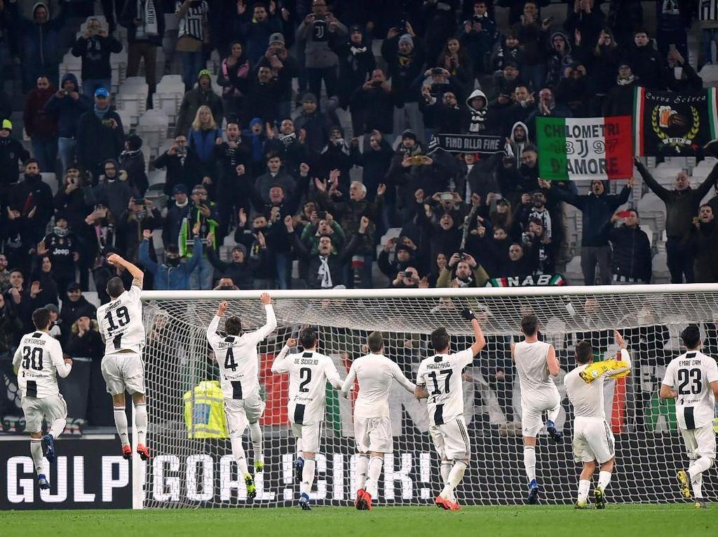 Juventus Terlalu Tangguh untuk Frosinone