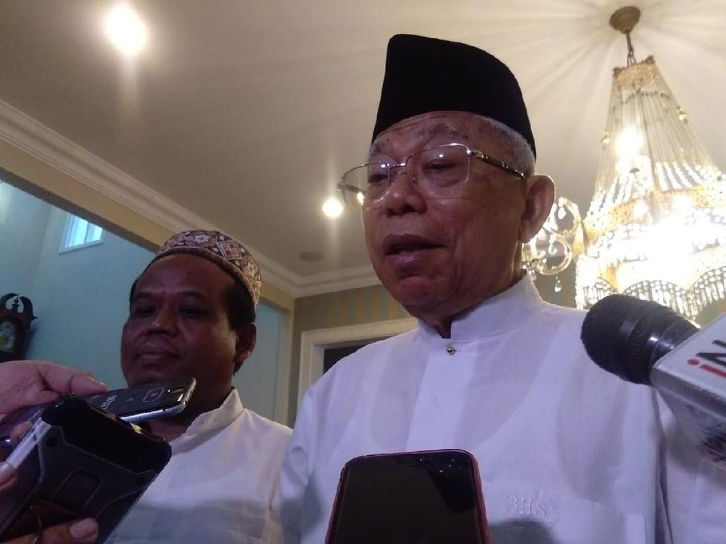 Canda Maruf Amin: Sebenarnya Pak JK Cawapres Sesungguhnya
