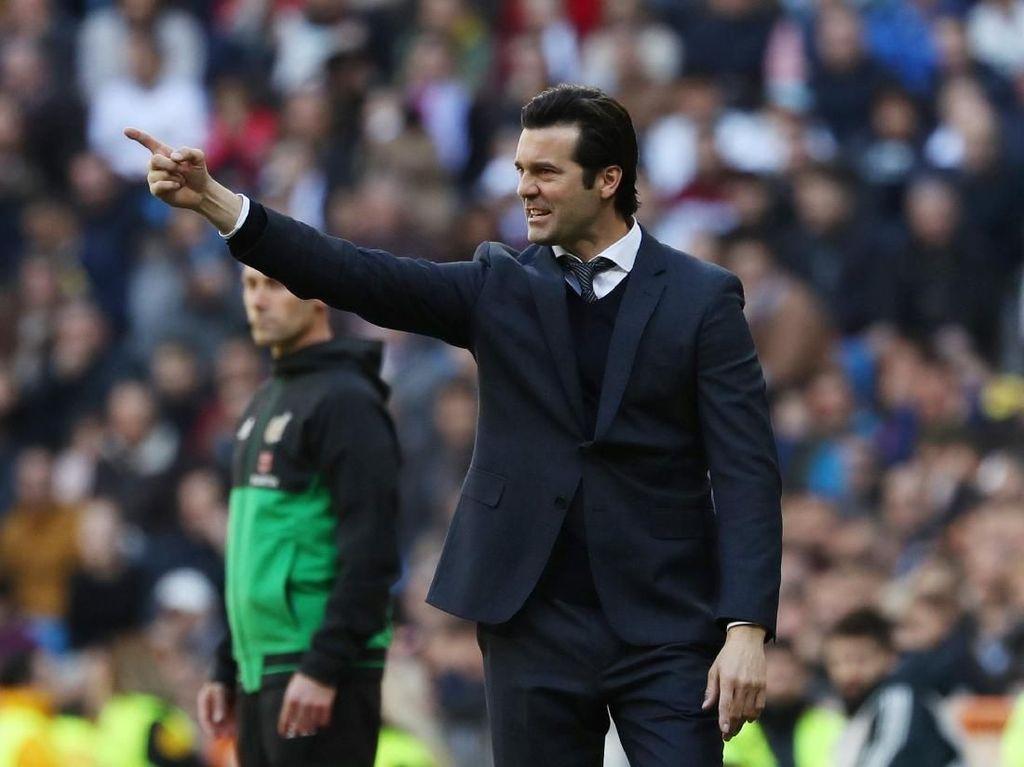 Madrid Tertinggal 9 Poin dari Barcelona, Solari: Liga Belum Habis