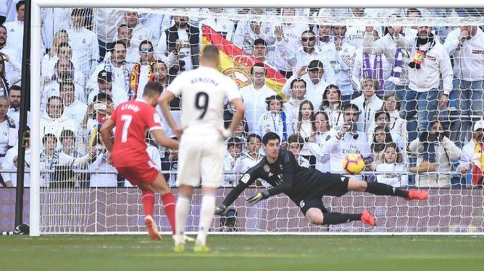 Real Madrid kalah di kandang, justru saat menghadapi tim yang lebih lemah (Denis Doyle/Getty Images)