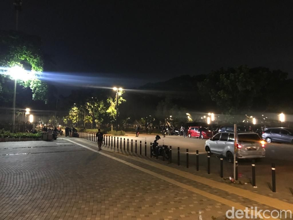 Misteri Ledakan Petasan di Parkit Senayan