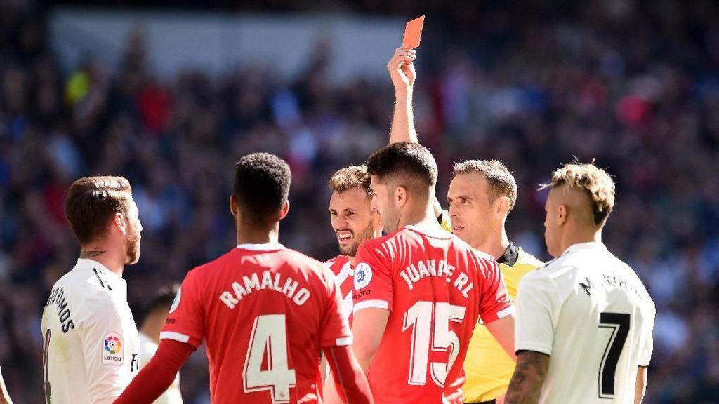 Kartu Merah Ke-25 untuk Ramos