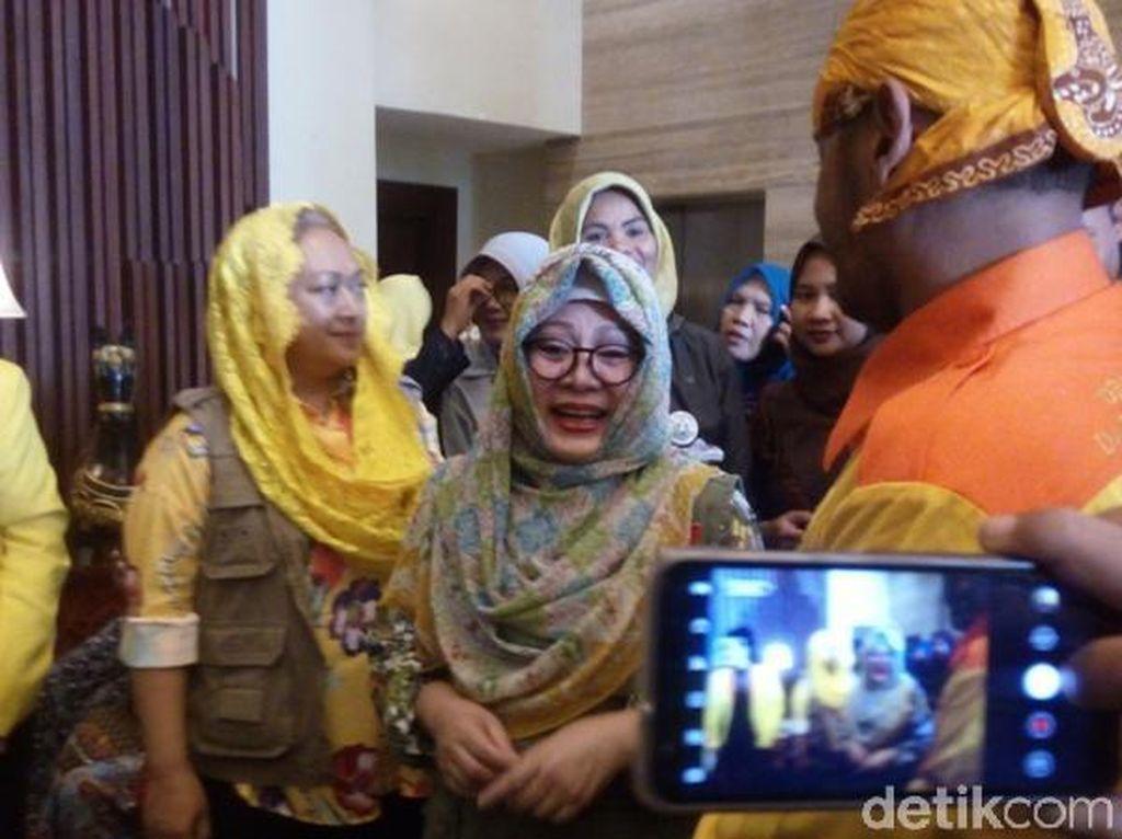 Kunjungi Jawa Tengah, Mbak Tutut akan Bantu Petani dan UMKM