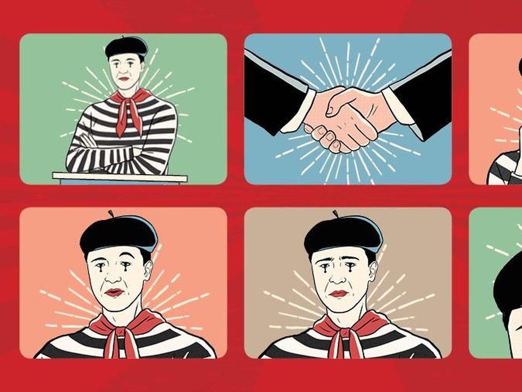 Mengartikan Gerak-gerik Tubuh Saat Debat