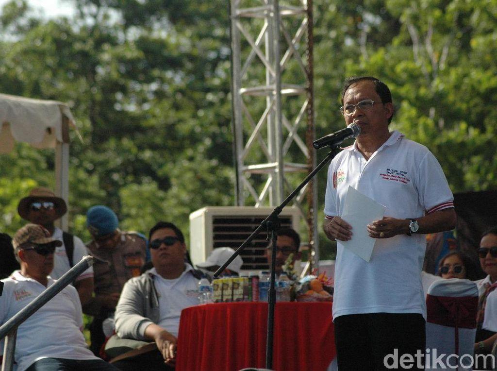 Doa Gubernur Koster: Astungkara, Jokowi Presiden Lagi