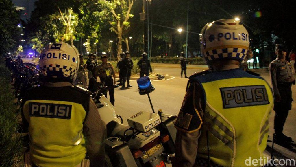 Suasana Terkini Pasca Ledakan di Parkit Senayan
