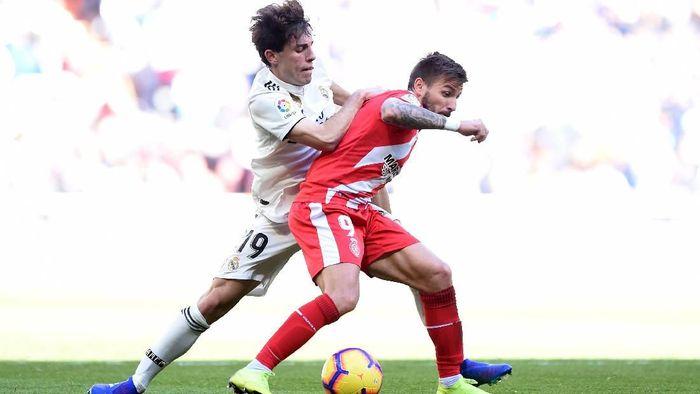 Dikalahkan Girona, laju positif Real Madrid terhenti (Foto: Denis Doyle/Getty Images)