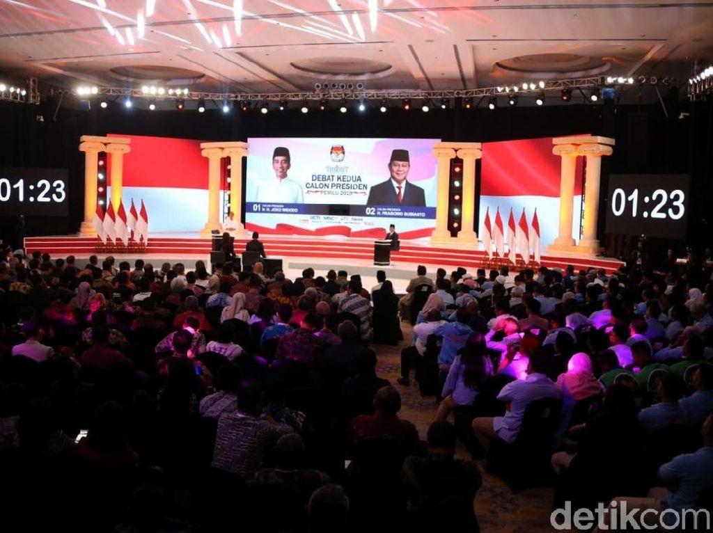 Logos Jokowi dan Pathos Prabowo di Debat Kedua