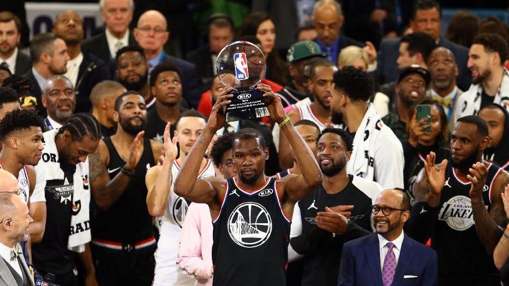 Manisnya Gelar MVP NBA All Star 2019 untuk Durant