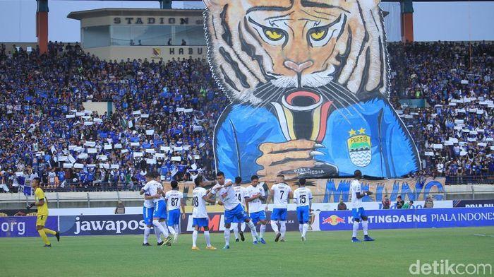 Laga Persib Bandung vs Borneo FC akan digelar pada 4 Mei (Foto: Wisma Putra/detikSport)