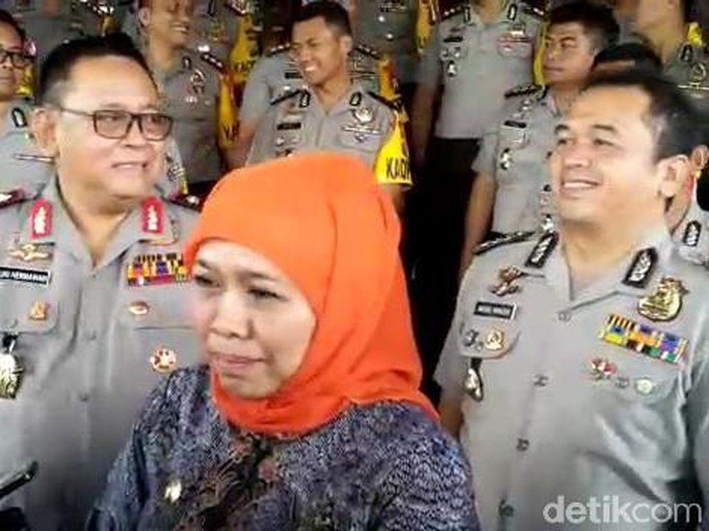 KPK Jadwalkan Periksa Khofifah Kasus Rommy, 3 Penyidik Datangi Polda Jatim