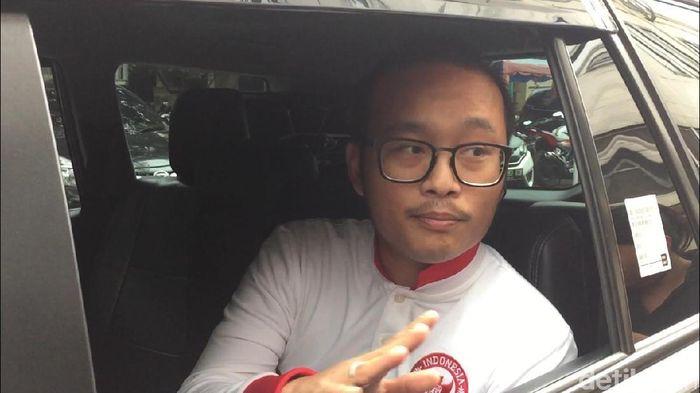 Pengacara Plt Ketua Umum PSSI Joko Driyono, Andru Bimaseta (Mercy Raya/detikSport)