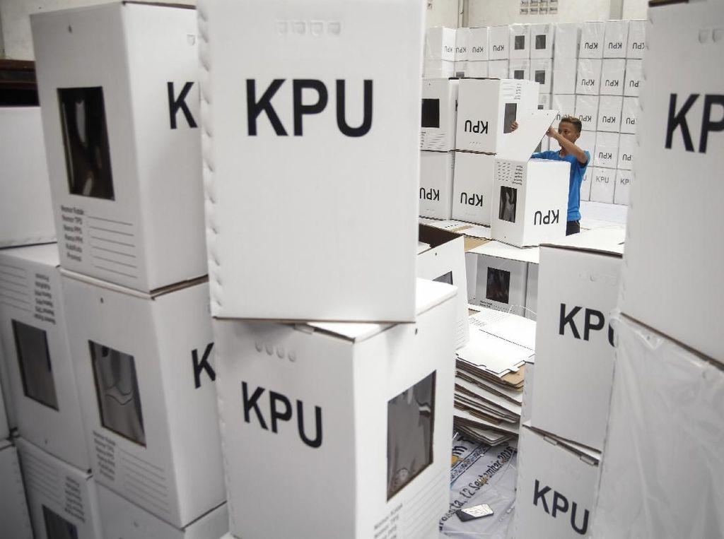Caleg PDIP Diduga Bakar 15 Kotak Suara, KPU Jambi Siapkan Coblosan Ulang