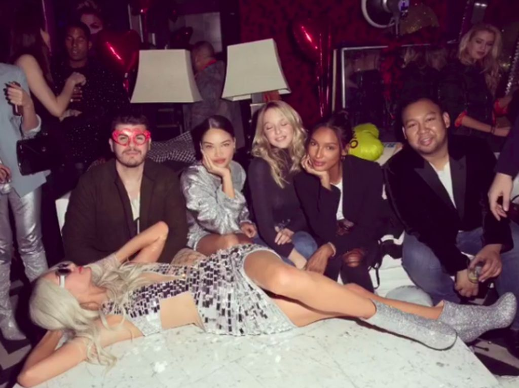 Aseek...Putra Prabowo Ikut Keseruan Party Bareng Paris Hilton