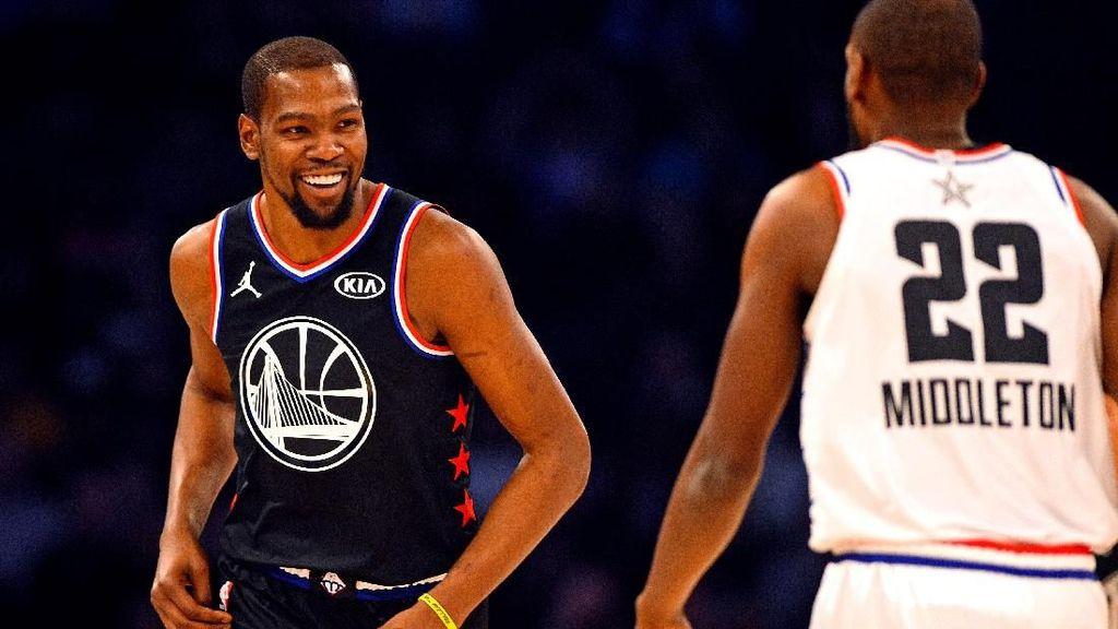 Kevin Durant MVP di NBA All Star 2019