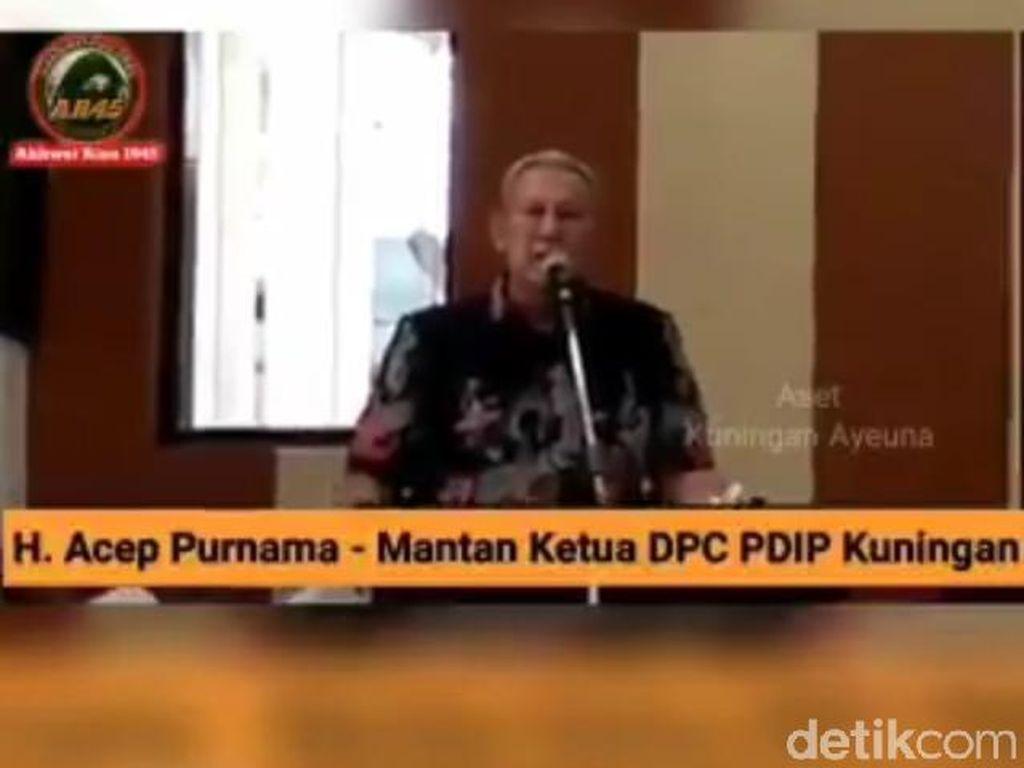 Bawaslu Panggil Bupati Kuningan Soal Kutuk Kades Tak Pilih Jokowi