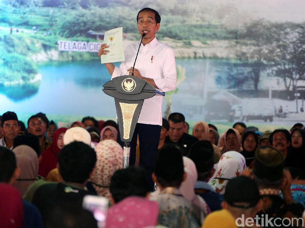 Sertifikat Tanah Disebut Tak Ada Gunanya, Jokowi: Kita Lanjutkan!