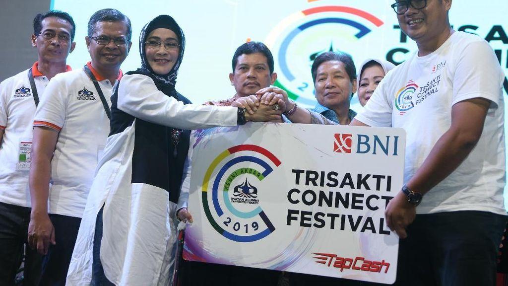 Reuni Akbar BNI Trisakti Festival Connect 2019