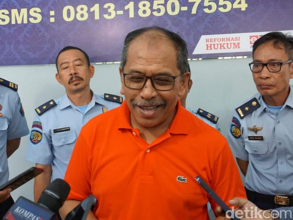 Eks Wali Kota Makassar Dipindahkan ke Lapas Makassar
