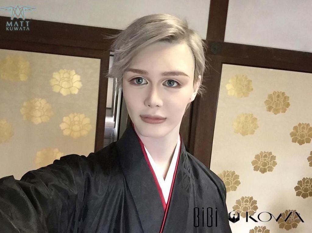 Perubahan Wajah Model Jepang Mirip Boneka Hidup yang Bikin Tercengang