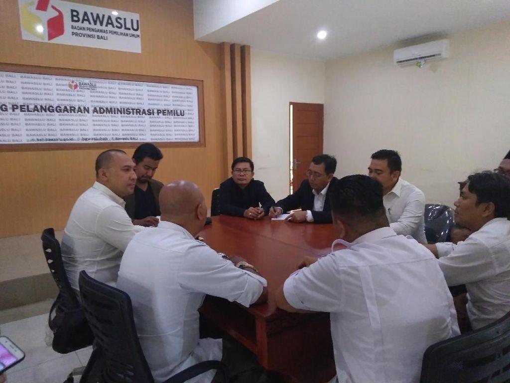 Timses Prabowo Bali Datangi Bawaslu Terkait Ajakan Koster Pilih Jokowi