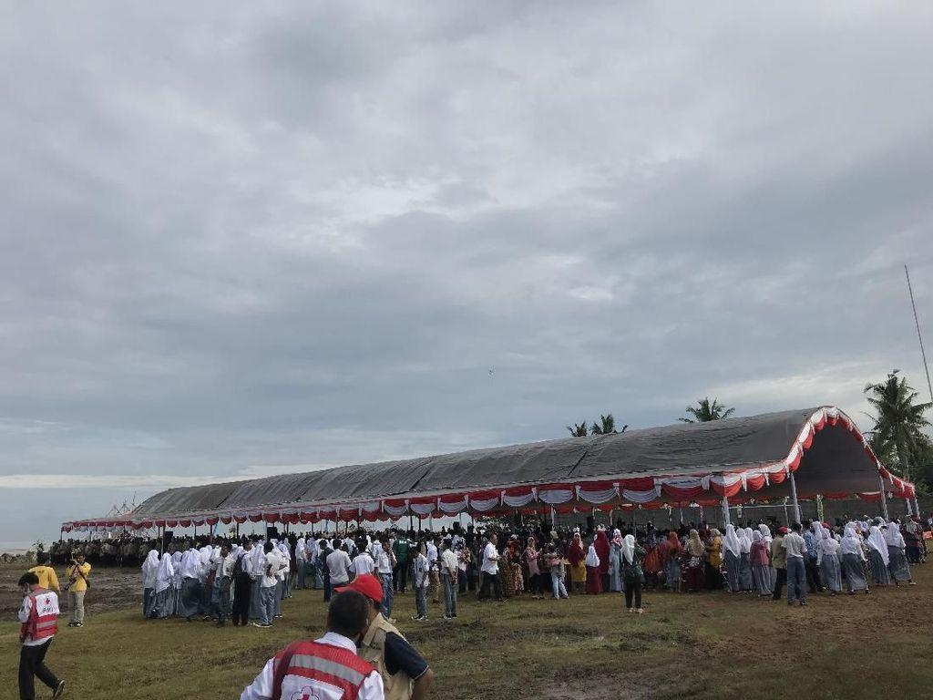 Kunjungi Banten, Jokowi Pantau Kegiatan Tagana Masuk Sekolah