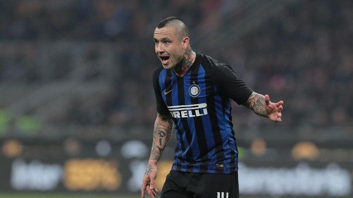 Radja Nainggolan membobol gawang Sampdoria yang dikawal Emil Audero (Emilio Andreoli/Getty Images)