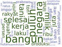 Prabowo 19 Kali Ucapkan 'Infrastruktur', Jokowi Bilang 'Bangun' 24 Kali