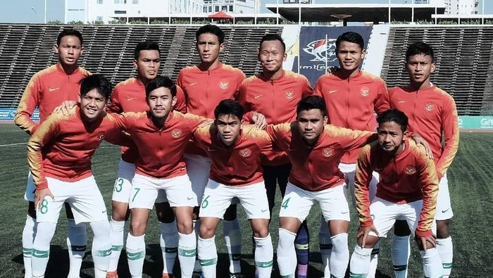 Indonesia imbang 1-1 dengan Myanmar. (Foto: Instagram @pssi_fai)