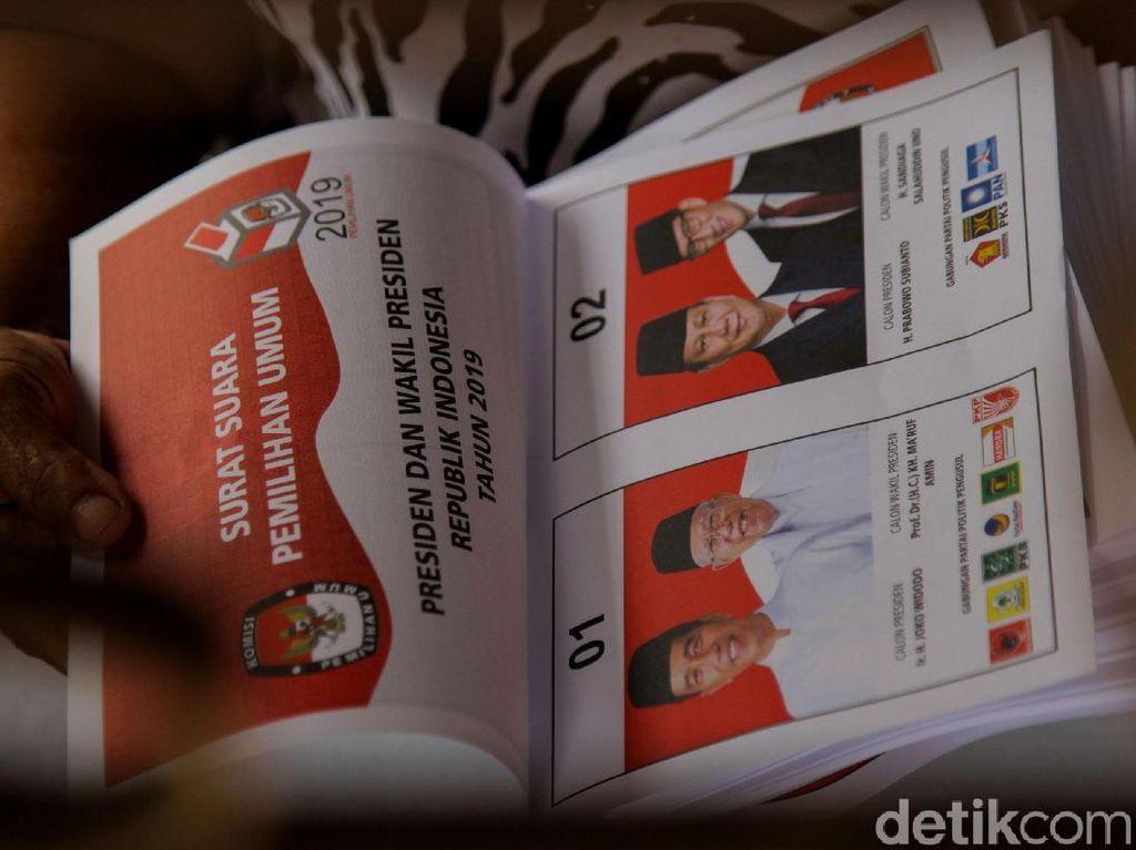 KPU DKI Jakarta Mulai Sortir Surat Suara Jelang Pemilu 2019