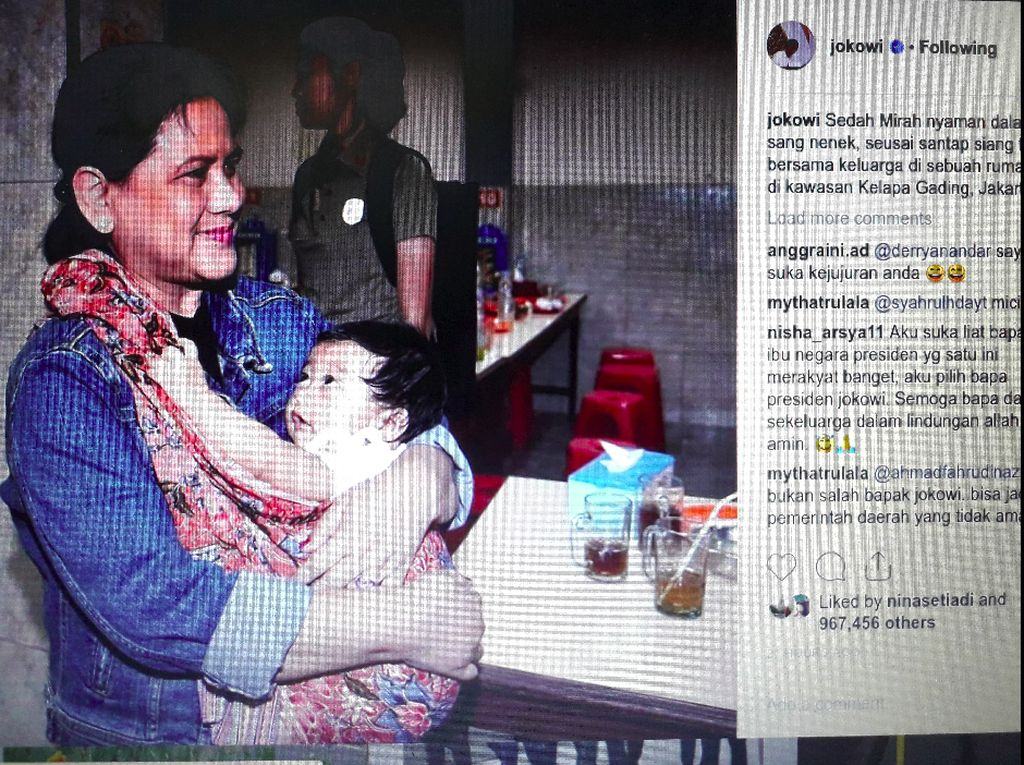Ini Manfaat Digendong, Seperti yang Dilakukan Iriana Jokowi pada Cucunya