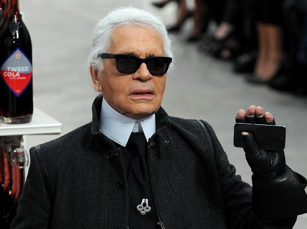 Ungkapan Duka Artis dan Model Dunia untuk Karl Lagerfeld