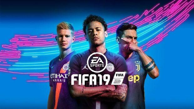 Cover terbaru FIFA 19 bergambar De Bruyne, Neymar, dan Dybala.