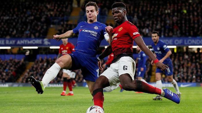 Man United Bungkam Chelsea
