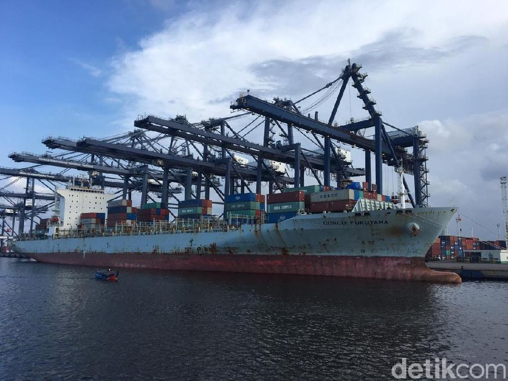 Saingi Singapura, Tanjung Priok Buka Rute ke Eropa hingga AS
