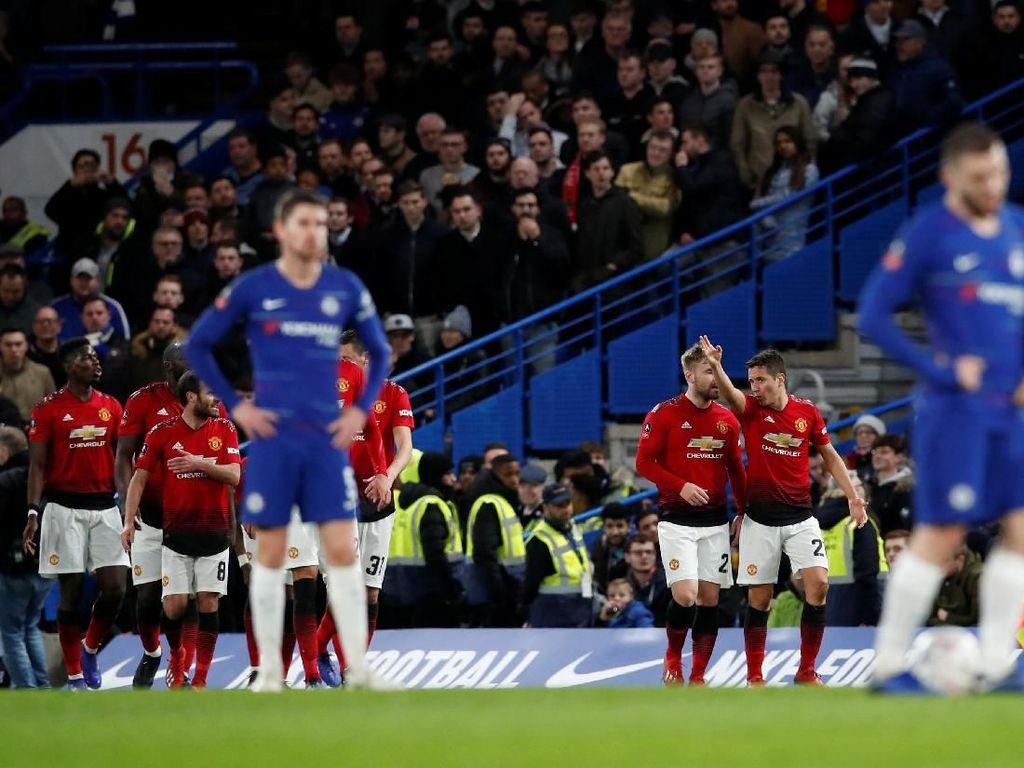 Manchester United Pecundangi Si Biru di Piala FA