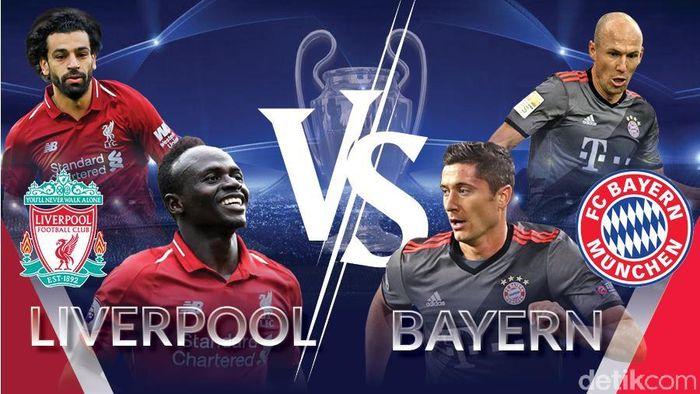 Liverpool vs Bayern Munich Tanpa Pemenang