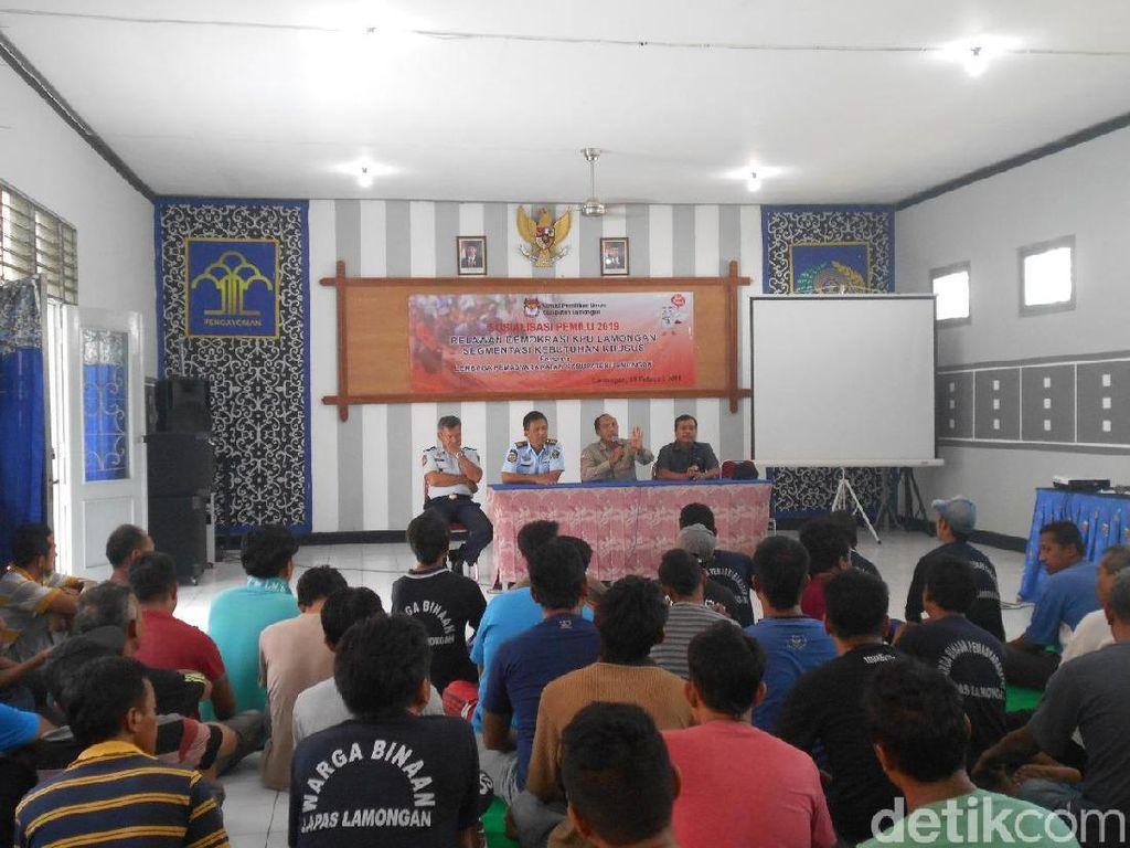 KPU Lamongan akan Bikin TPS di Lapas