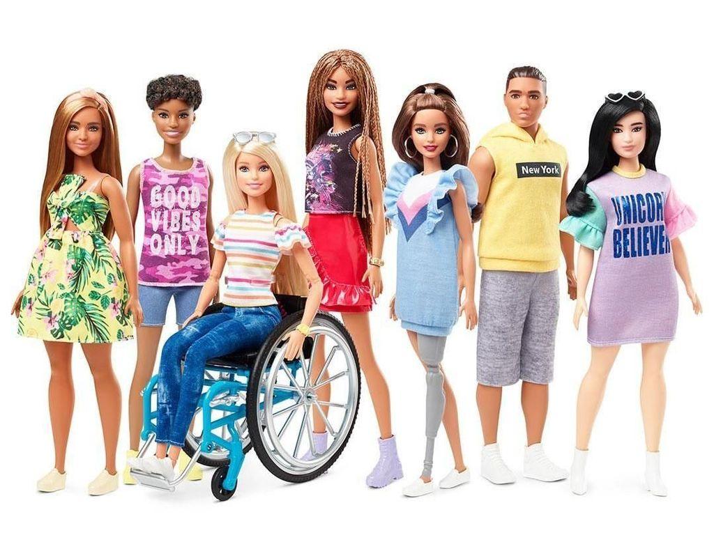 Setelah Barbie Hijab, Matel Akan Rilis Barbie Penyandang Disabilitas