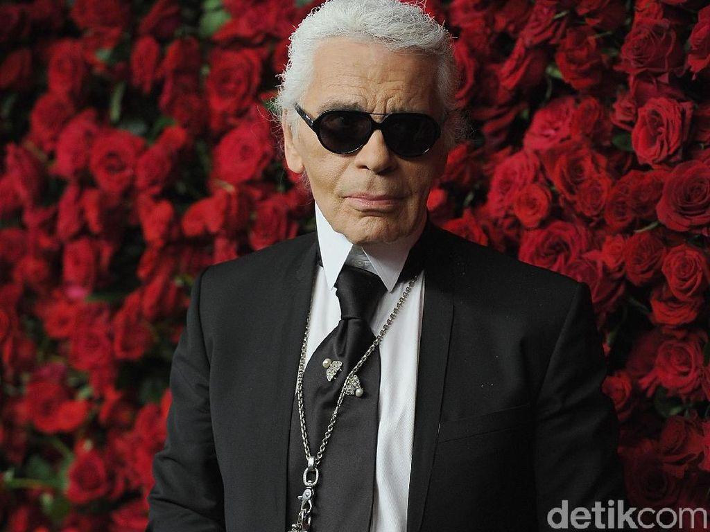 Ungkapan Duka Chanel untuk Karl Lagerfeld