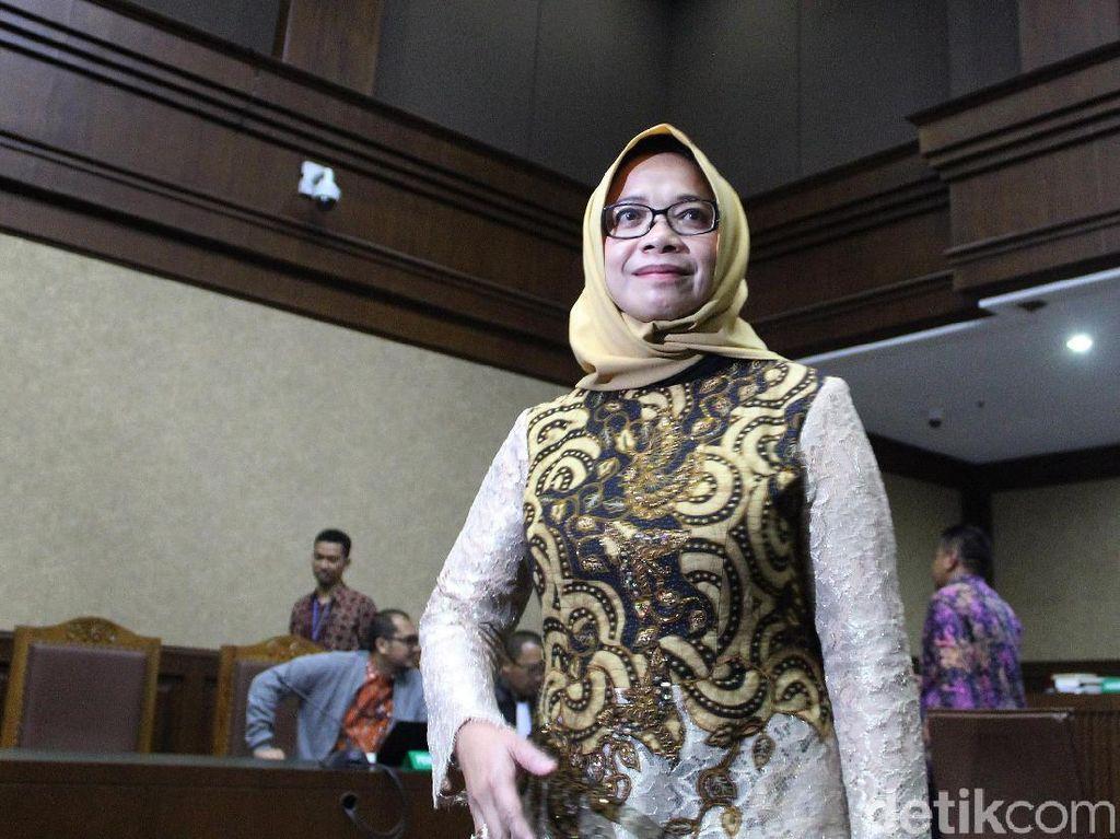 Eni Saragih Hadapi Vonis Sidang Kasus Suap Proyek PLTU Riau-1