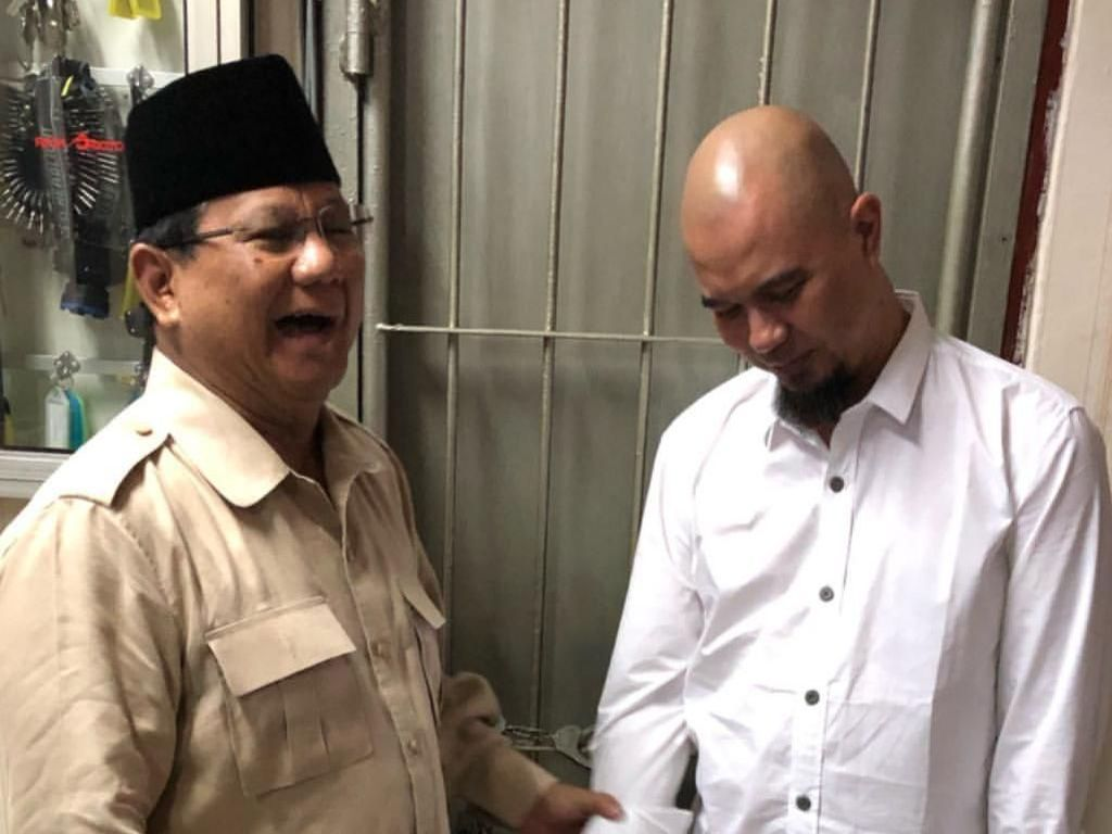 Prabowo Sebut Kasus Ahmad Dhani Dendam Politik, Kejari: Murni Hukum