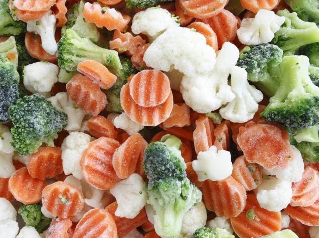 Lagi Ngetren Frozen Food, Sayuran Beku Sehat Nggak Sih?