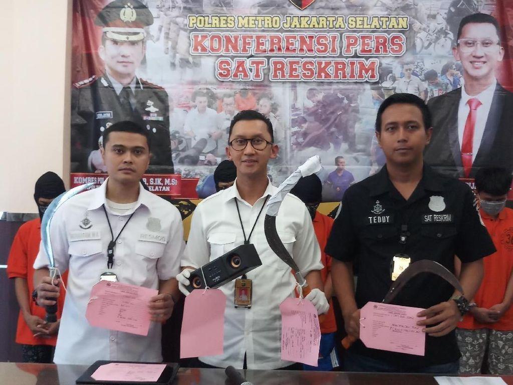 Polisi Kembali Tangkap 3 Anggota Geng Motor Perampok di Pejaten