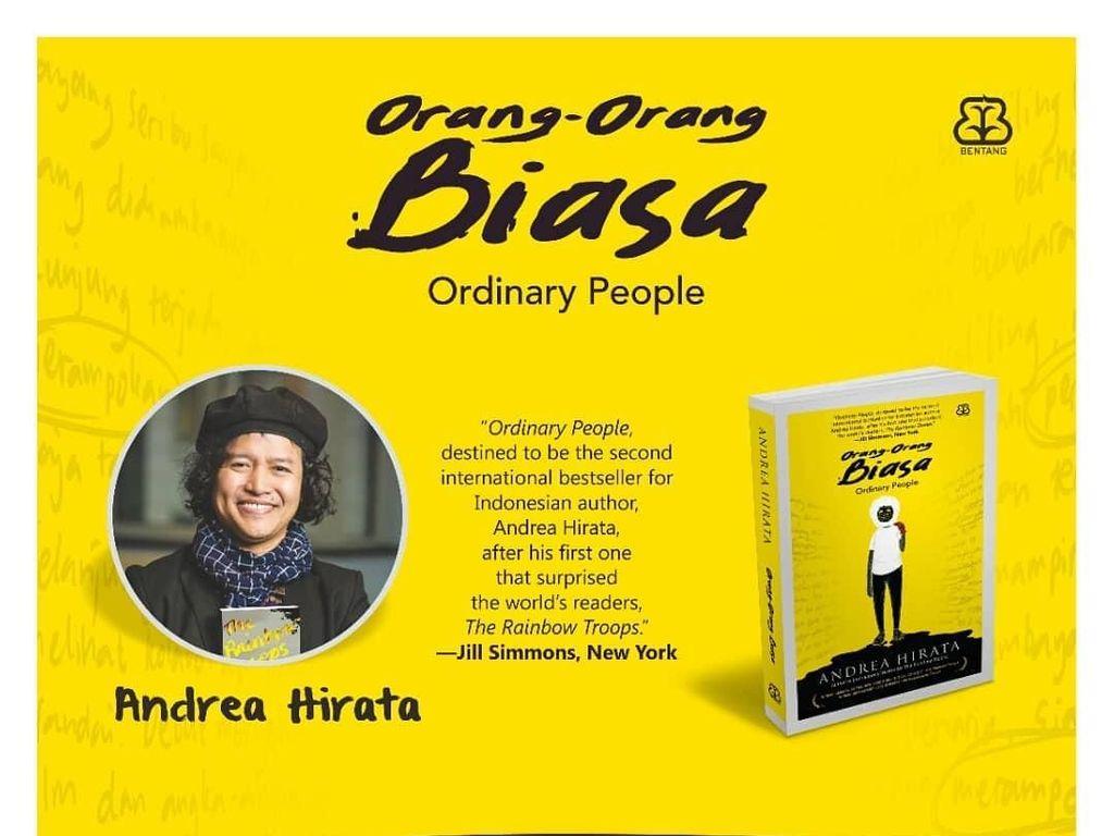 Novel Terbaru Andrea Hirata untuk Seseorang, Siapakah Dia?