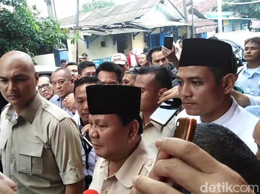 Prabowo soal Kasus Ahmad Dhani: Ini Dendam Politik!