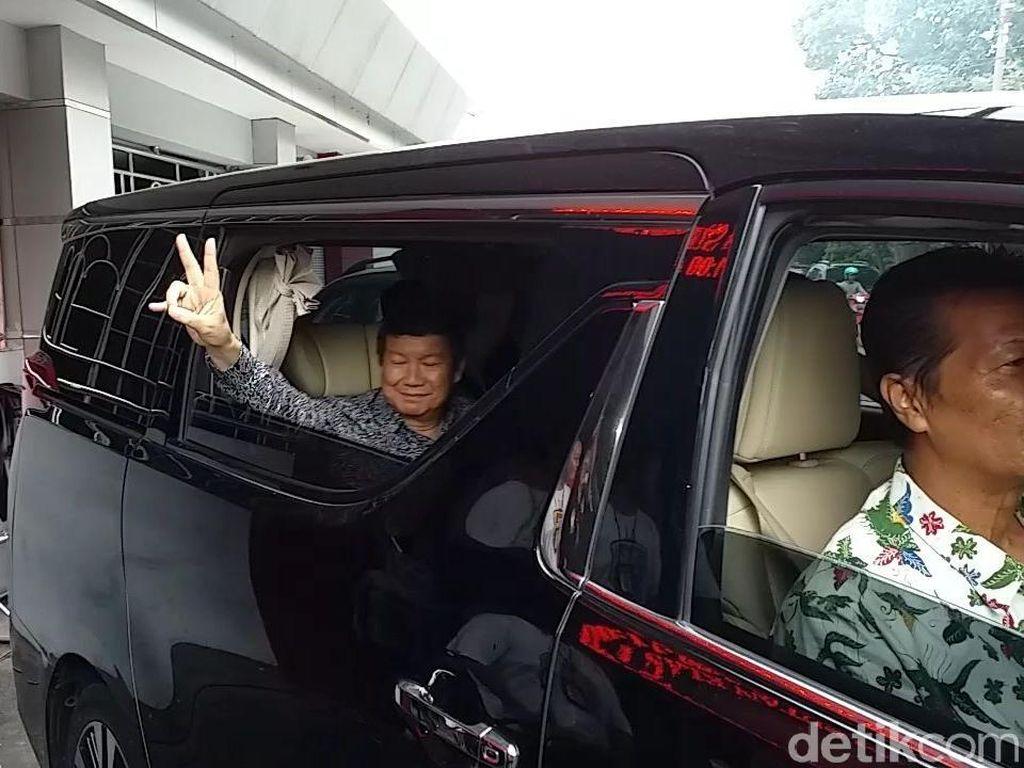 Besuk Dhani di Medaeng, Hashim: Ahmad Dhani Tidak Bersalah