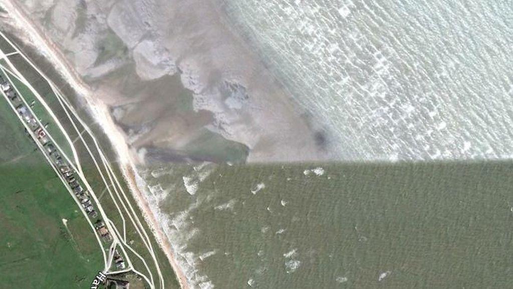 Beragam Fenomena Menarik Bumi via Google Earth